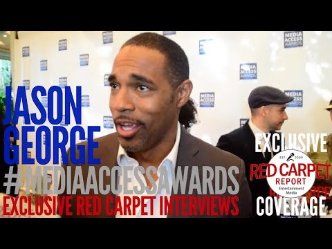 Jason George ed at the 2017 Media Access Awards MediaAccessAwards