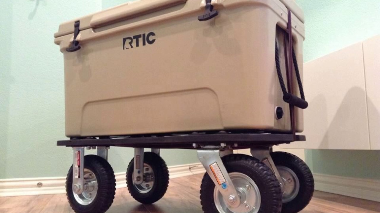 How To Make Rtic Yeti Cooler Wheels Kit System Easy - Coole Sportwagen