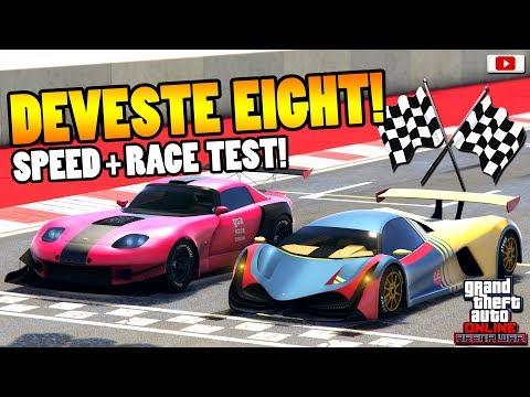 😨🏁5000 PS Auto Zieht FAST Alle! DEVESTE EIGHT Speed + Race Test!😨🏁[GTA 5 Online Arena War Update] thumbnail