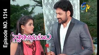 Swathi Chinukulu | 18th November 2017 | Full Episode No 1314 | ETV Telugu