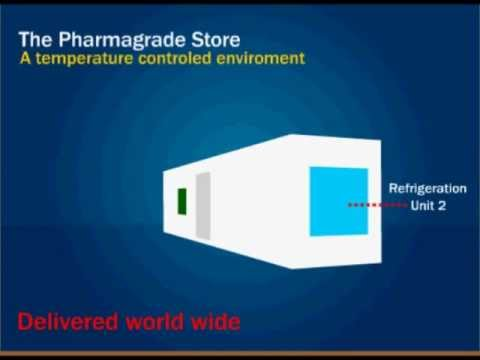 Pharmaceutical Cold Stores - CRS 40ft Pharmagrade Refrigeration
