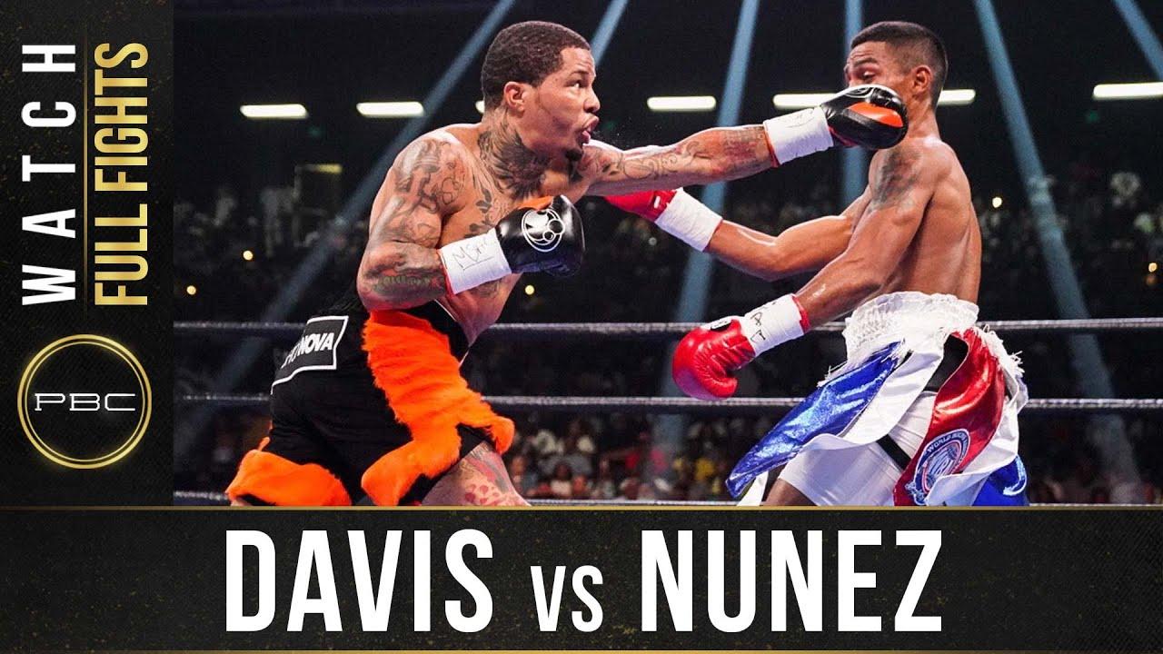 Download Davis vs Nunez FULL FIGHT: July 27, 2019   PBC on Showtime