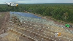 Long Island Solar Farm Nearly Complete
