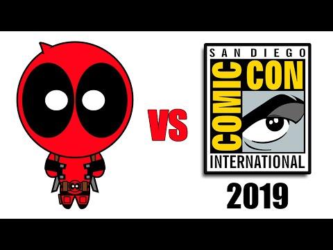 Deadpool vs San Diego Comic-Con 2019