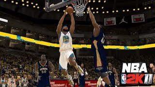 NBA 2K11: Why, Boogie? (New Orleans vs. Golden State) | PC Gameplay with Mods