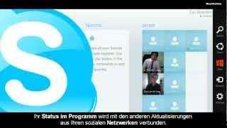 Skype für Windows 8 - Deutsch - EAZEL