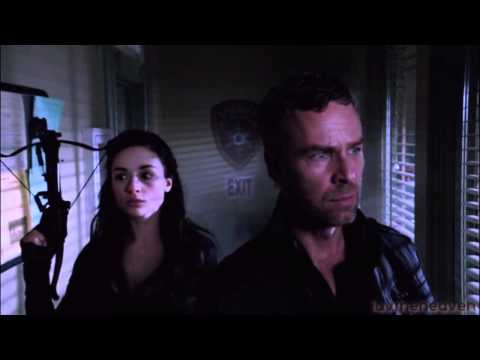 """Teen Wolf: Allison & Chris Argent - """"Your Guardian Angel"""" (father/daughter tribute)"""