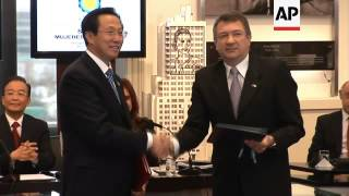 ARGENTINA AND CHINA SIGN AGREEMENTS ON AGRICULTURE AND ENERGY DURING WEN