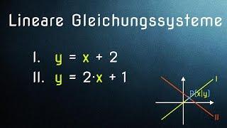 Lineare Gleichungssysteme (1/6) - Die 3 Lösungsverfahren erklärt