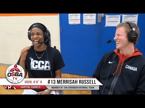Capital Courts' 2020 G Merissah Russell does her best Beyonce impression