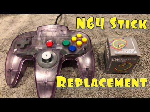 How To Replace Your Nintendo 64 Controller Stick Step By Step