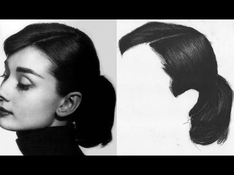 Easy Way to Draw Realistic Hair