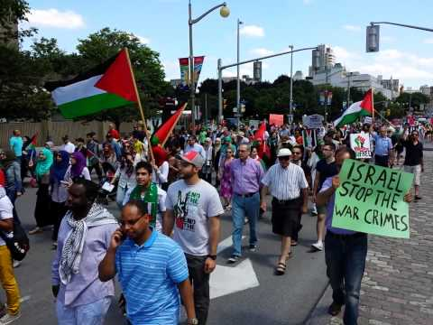 Free free Palestine, Ottawa, Canada