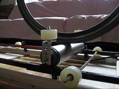 test of homemade free motion rollers youtube. Black Bedroom Furniture Sets. Home Design Ideas