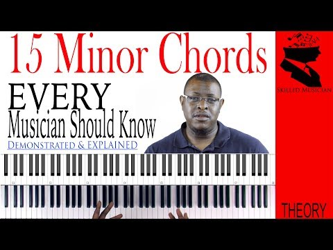 15 Minor Chords Every Musician Should Know