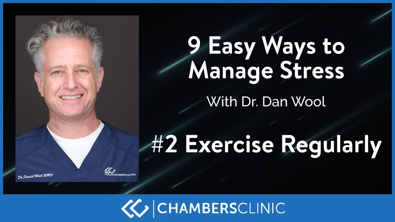 9 easy ways to reduce stress: #2 Exercise regularly
