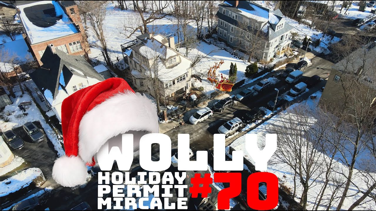 WOLLASTON WEDNESDAY #70: Santa gave us a demo permit one week early!