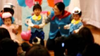 13.3.2 新堀保育園 発表会(りす組さん)