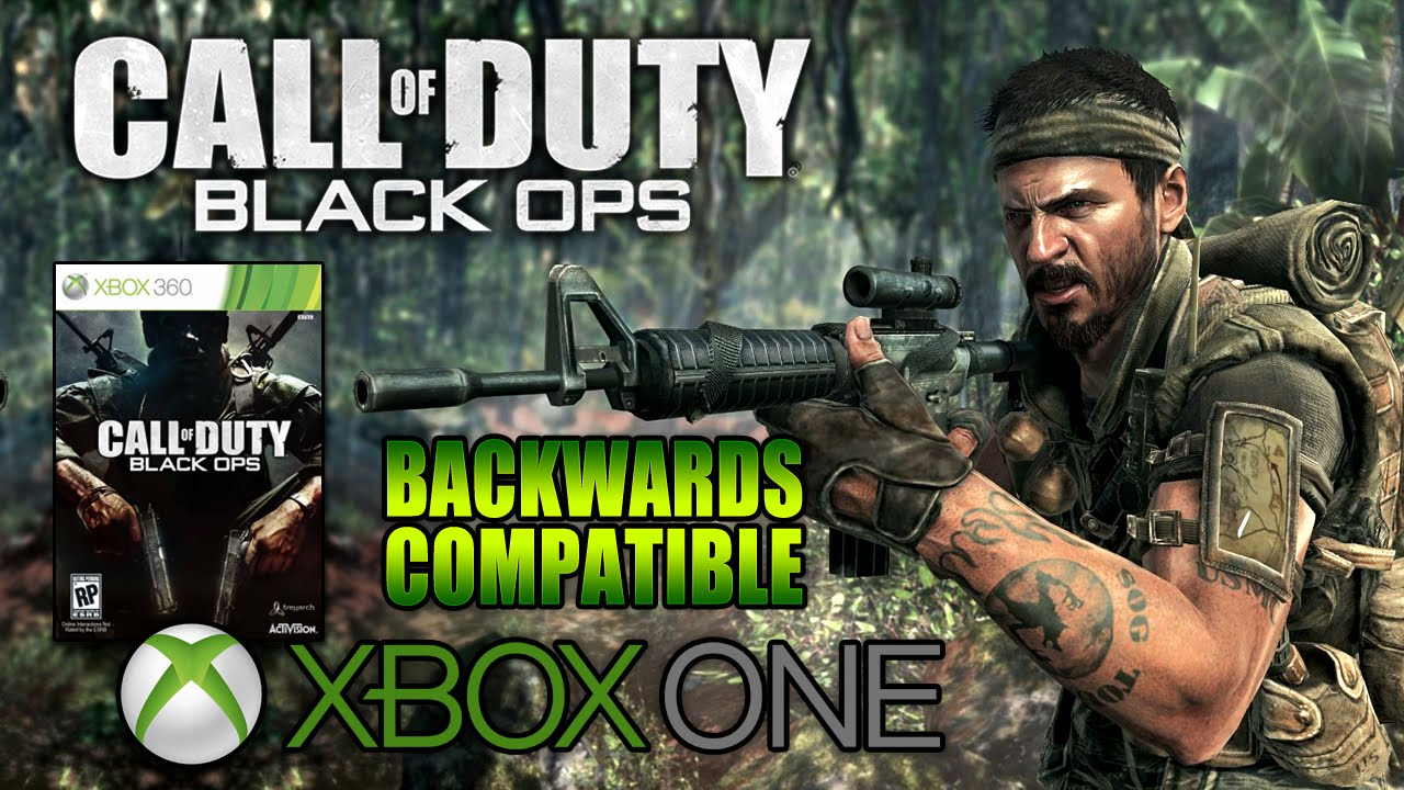 All Backward Compatible Call Of Duty games for Xbox One ...