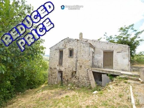 Cottage Rustic Stone House For Sale In Abruzzo Italy