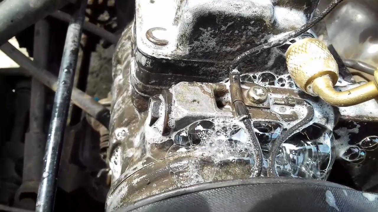 Kompresor Ac Mobil Panther Bocor Youtube