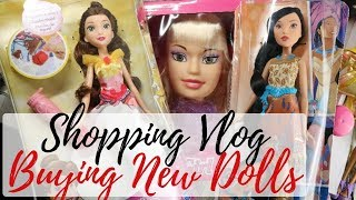 BUYING NEW DOLLS - SHOPPING VLOG / Looking For New Monster High, Barbie, Bratz Dolls