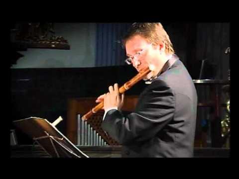 G.F. Haendel. Sonata per flauto e continuo in si minore Op.1 n. 96b HWV 367b - Presto