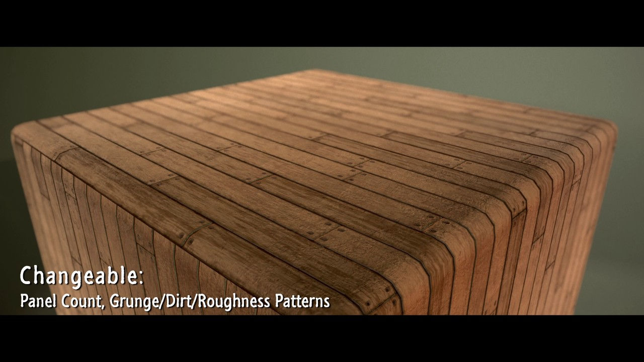 Wood Floor - Made in Substance Designer - YouTube