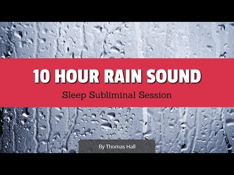 Ultimate Confidence with People - (10 Hour) Rain Sound - Sleep Subliminal Session - By Thomas Hall