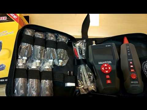 Unboxing cable length tester NF-8601 (indonesia)