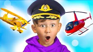 سينيا يختار مهنة الطيار. قصص التعلم للأطفال