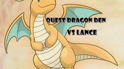 Pokemon Revolution Online  #Quest Dragon Den #Vs Lance