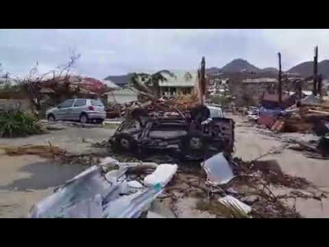 St. Martin, Orient Bay Village, Hurricane Irma Aftermath Part I