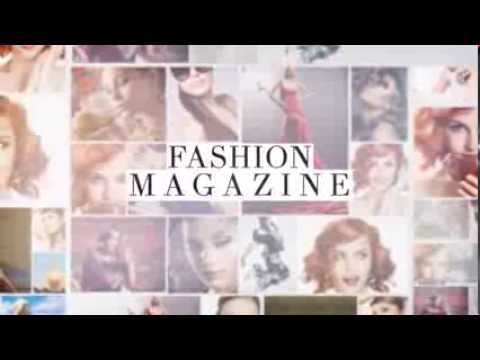 BEAUTY FASHION MAGAZINE PHOTO SLIDESHOW ANIMATION - AFTER EFFECTS TEMPLATE
