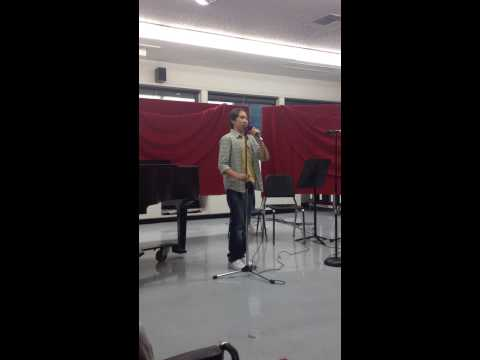 "11 year old Zack Brown - Mash-up ""Hallelujah/One Day"""