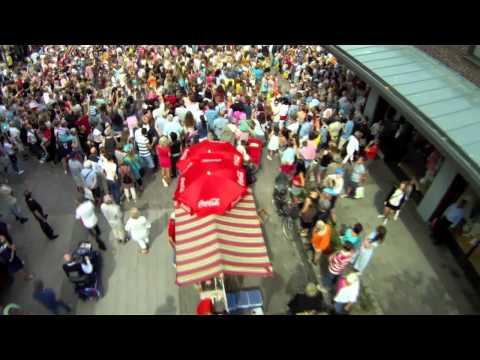 Halmstadgillet Flashmob