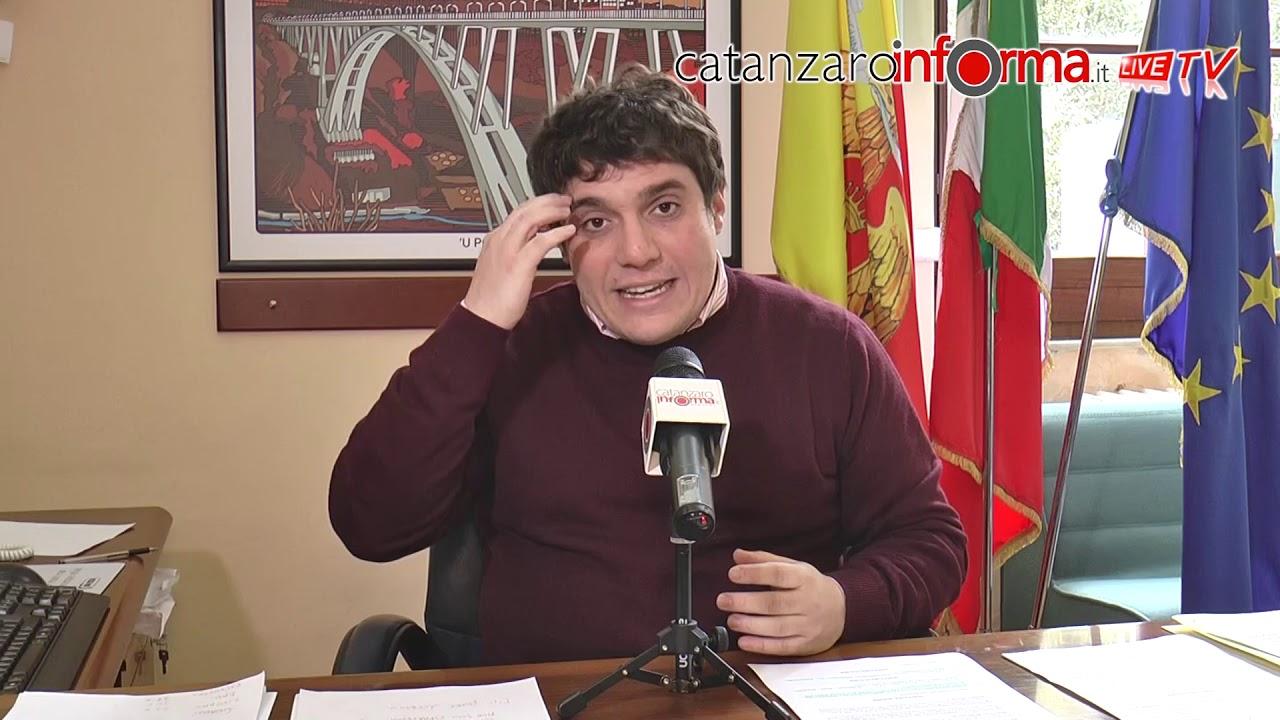 Il Presidente Del Consiglio Comunale Marco Polimeni Dopo