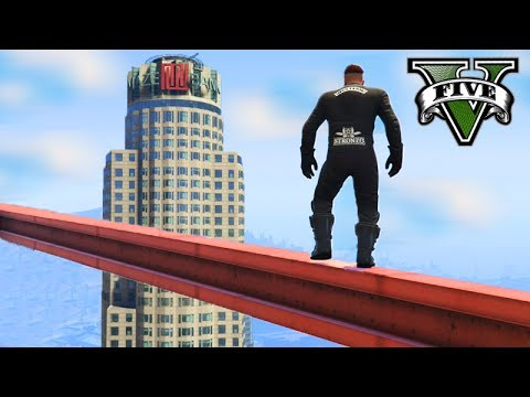 GTA V Online: O PARKOUR mais PERIGOSO!!! - MAZE BANK