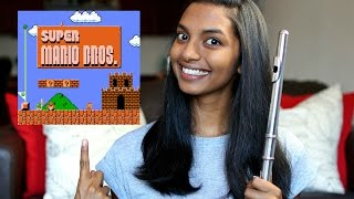 Super Mario Bros Theme - Flute Cover