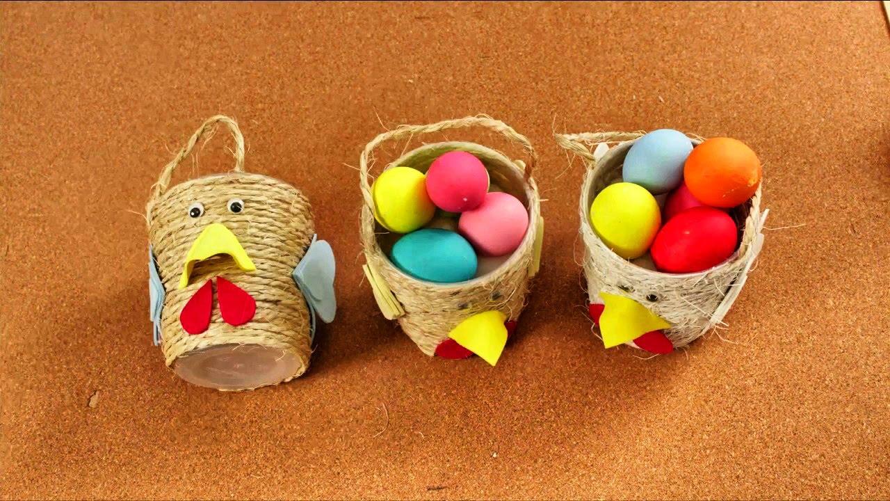 Como Hacer Adornos De Huevos De Pascua Manualidades Diy Youtube