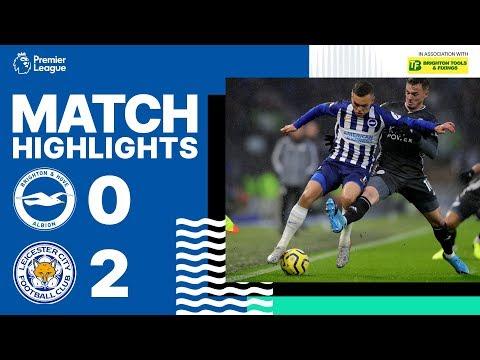 Brighton & Hove Albion 0 Leicester City 2