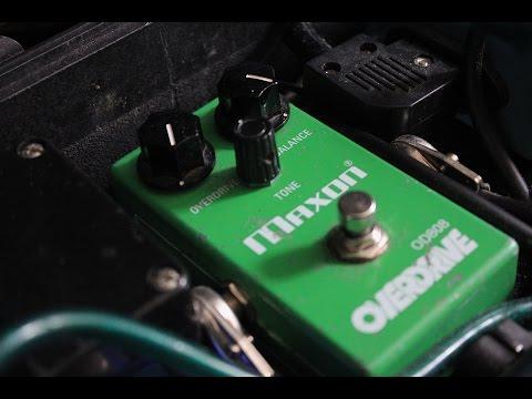 Using an Overdrive/Tubescreamer/Maxon for metal tones - Josh Middleton