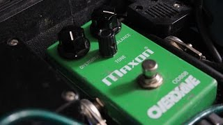 Using an Overdrive/Tubescreamer/Maxon for metal tones - Josh Middleton