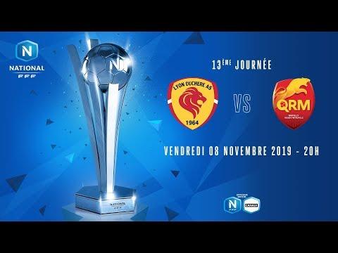 13e journée : Lyon - QRM I National FFF 2019-2020