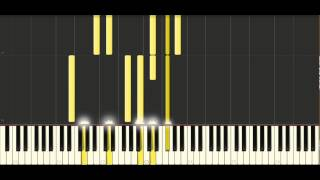 How to play trouble by coldplay on piano - Synthesia