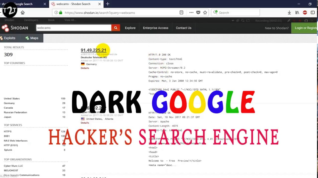 Why you should FORGET GOOGLE and start using SHODAN