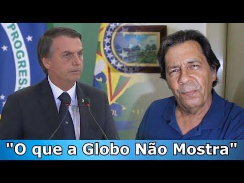Bolsonaro nada de braçada X TV Globo afundada e afogada.
