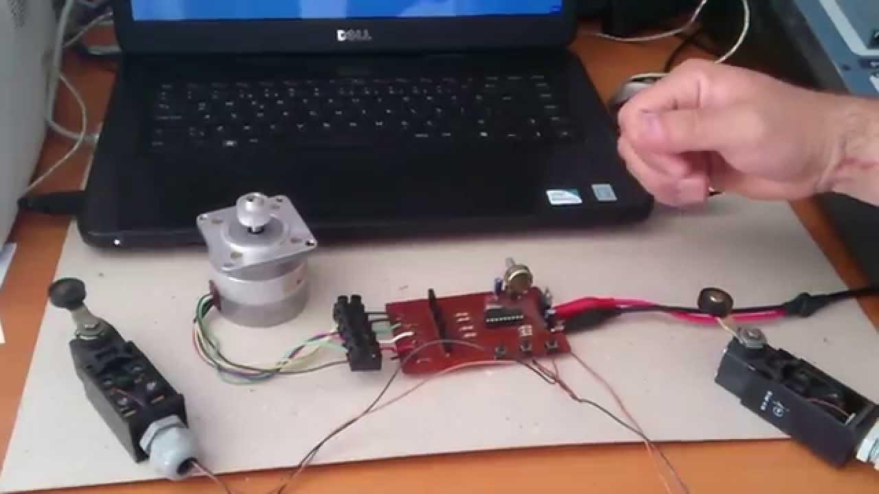 Step motor kontrol 1 co kun z e itim vakf nedir nas l for How to program stepper motor with plc