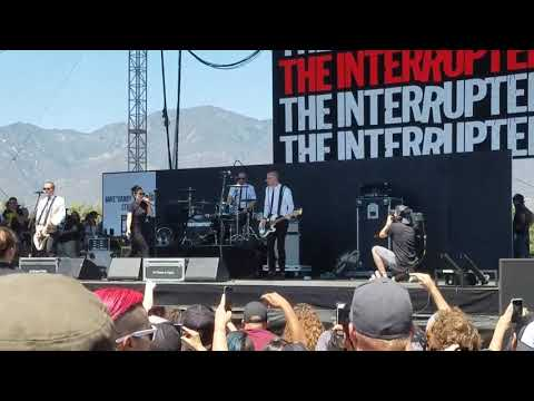 The Interrupters - On A Turntable (live @...