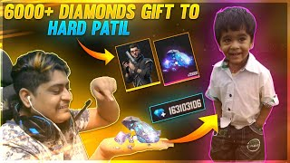 8 Years Boy Patil Gift  💎100000 Diamonds  | Crying Moment 😭 | Garena Free Fire